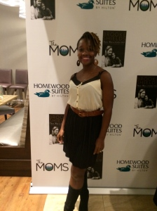 Me, (Professor Debra Lewis-Bootham ) at the  Brooke Shields Mamarazzi on Nov 17