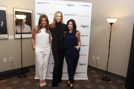 The MOMS Denise Albert and  Melissa Musen Gerstein  both decked out in Trish