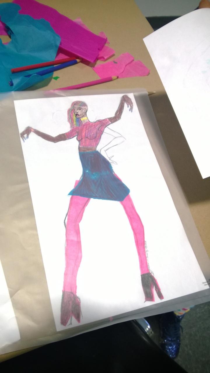 BONDING OVER ART FASHION WITH DAUGHTER  8, RE-IGNITES CROWNHEIGHTSMOM'S DESIGNER DREAMS…..KIND OF…..by Debralewis-Boothman