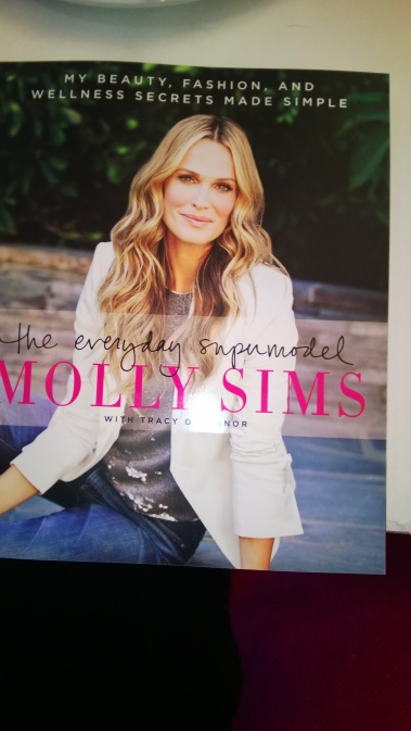 PAGE TUNER: Molly Sims  shares  beauty, fashion and wellness tips in her newest book