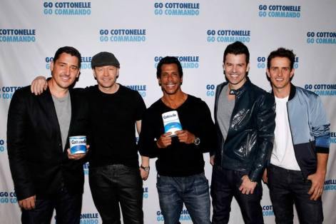 NKOTB join forces with Cottonelle