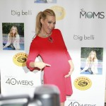 Molly Sims and her bump