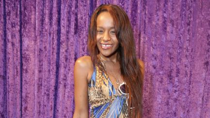 Bobbi Kristina in  March 2014 looking gaunt