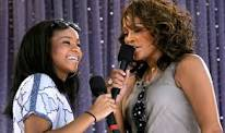 Bobbi Kristina Brown and her mother Whitney Houston