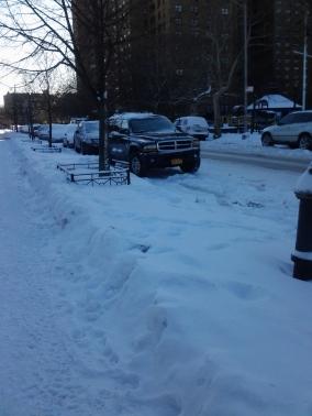 Snowy Brooklyn