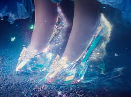 The glass slippers every little girl dreams about  from her prince