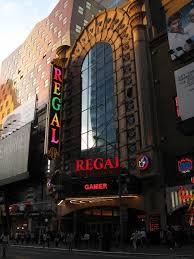 Regal E-Walk in Times Square NYC