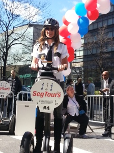 MOMS co-creator Denise Albert is now a pro on a Segway