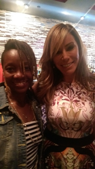 CrownHeigthsMom posing with Melissa Rivers