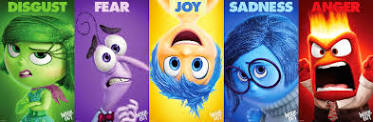 Disgust, Fear, Joy, Sadness and Anger are 'Inside Out' star emotions
