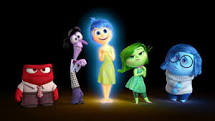 "The emotional character  from Pixar's ""Inside Out"""