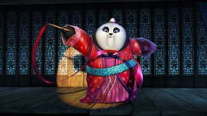 Kate Hudson plays the adorable ribbon dancing panda diva Mei Mei