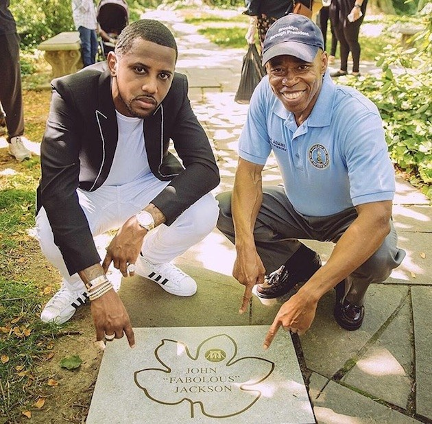 Multi-Platinum Artist Fabolous Is All About The Stepping Stones in his hometown of Brooklyn
