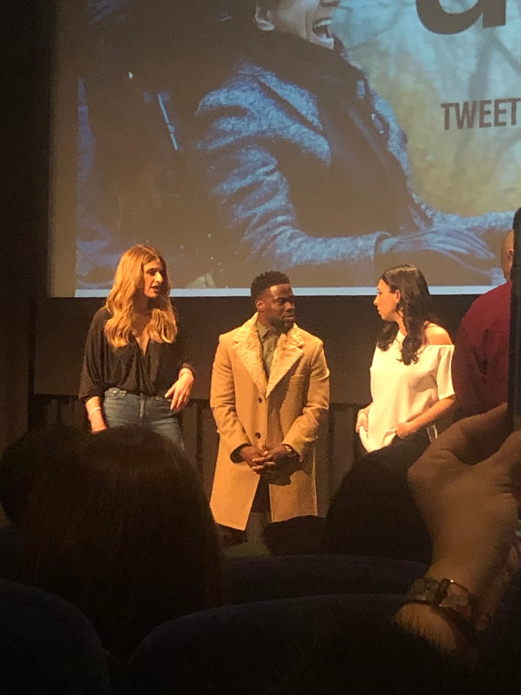 New dad Kevin Hart chats with The MOMS, Denise Albert  and Melissa Gerstein
